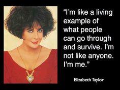 elizabeth taylor quote   Elizabeth Taylor quote   Momchap's Blog