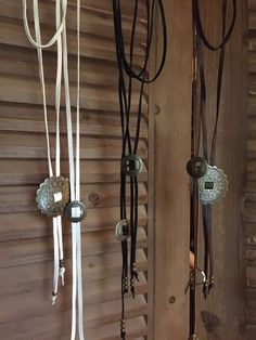 Bolo Tie Necklace / Leather Wrap Around by GreenEGGsnCamDesigns