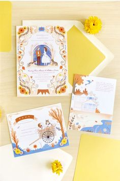 Illustration and Stationery Made in Baltimore. Wedding Invitations, Wedding Stationery and Illustrations Custom Made. Illustrated Wedding Invitations, Simple Wedding Invitations, Wedding Stationary, Stationary Design, Invitation Card Design, Wedding Invitation Design, Invites, Invitation Suite, Party Invitations