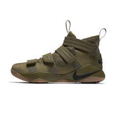 a1db1e494fd8 Nike LeBron Soldier XI SFG  Green Camo  Men s Shoes Camo Men