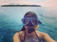 Great Barrier Reef. Swimming with turtles huge manta rays... And sharks!  #AustraliaDay  #travel #roadtrip #backpacking #australia #GreatBarrierReef #straya #1770 #seventeenseventy by kateaufait http://ift.tt/1UokkV2