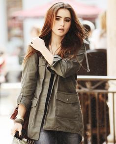 Lily Collins natural beauty -woman crush!