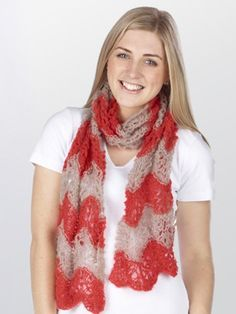 Ione Feather & Fan Lace Scarf