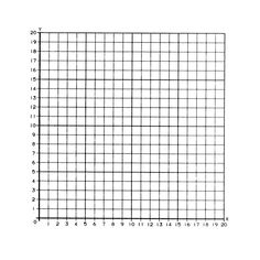 150244, Graph Paper Stickers - 1st Quadrant, Numbered (50 Stickers)