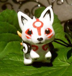 Chibi Amaterasu Charm on Etsy, Sold