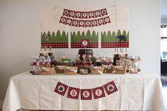 Lumberjack Birthday Party on Kara's Party Ideas | KarasPartyIdeas.com (30)