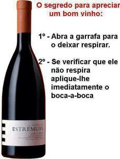 Solução ideal!...vinhos bebidas