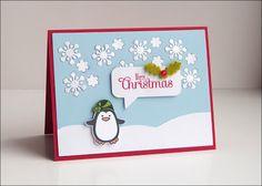 Winter penguin ; Christmas