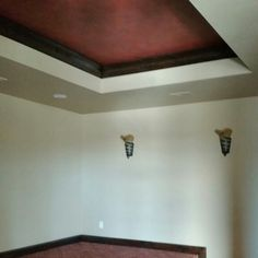 Theatre ceiling finish Decor, Ceiling Finishes, Ceiling, Faux Finish, Theater Ceiling, Home Decor, Ceiling Lights
