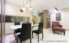 Contemporary interior design concept for a 4 rm DBSS HDB project. - Samuel,  Unity ID.