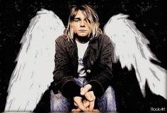 Kurt Cobain fan art Donald Cobain, Kurt Cobain, Nirvana Art, Pale Blue Eyes, Love Me Like, Great Bands, Rock Music, Punk Rock, Beautiful People