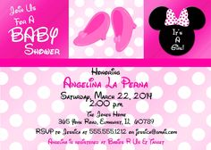 Download Now How To Make Minnie Mouse Baby Shower Invitations