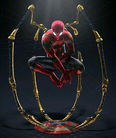 Iron spider - Stark (mcu)  #spiderman2099 #Spidermangram #spidermanhero #spidermanlovers
