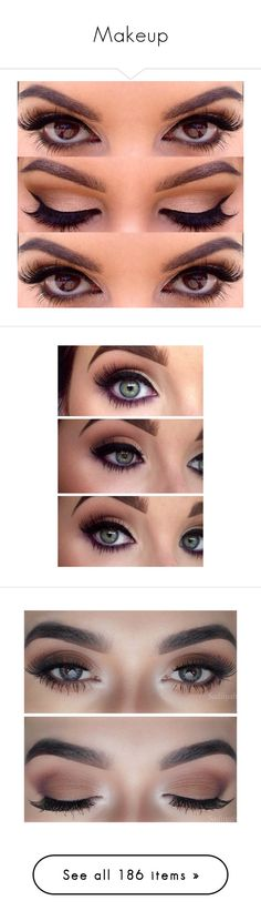 """Makeup"" by you-will-never-not-matter ❤ liked on Polyvore featuring beauty products, makeup, eyes, beauty, eye makeup, maquiagem, backgrounds, liquid eyeliner, liquid eye liner and skincare"