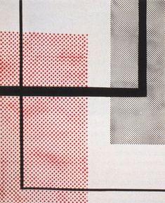 Sigmar Polke, Konstruktivistisch (Constructivist), (1968) Dispersion paint on canvas