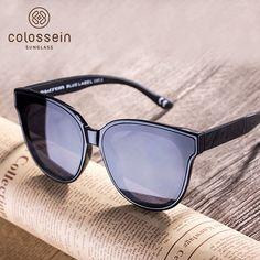 afac33ed0a9 COLOSSEIN Cat Eye Luxury Sunglasses