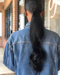hairstyles with curly hair natural hairstyles for short hair hairstyles prom hairstyles quick hairstyles loose hairstyles asian hairstyles kerala hairstyles app Weave Ponytail Hairstyles, Elegant Hairstyles, Hairstyles With Bangs, Straight Hairstyles, Girl Hairstyles, Braid Ponytail, Medium Hair Styles, Curly Hair Styles, Natural Hair Styles