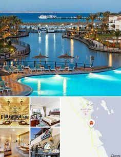 Il resort gode di una posizione privilegiata sulle spiagge dorate di Hurghada, a soli 15 minuti dall'aeroporto internazionale e in un'area dalla superficie di 181.000 mq.