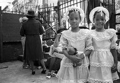 Harlem, New York, 1984. « Sunday Morning » © Martine Barrat