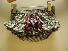 USC Gamecocks Diaper Cover by TheBeeGarden on Etsy, $15.00