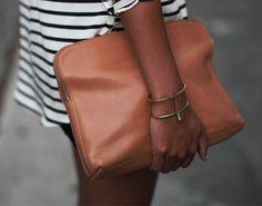 gold tusk bracelet #details #fashion #style