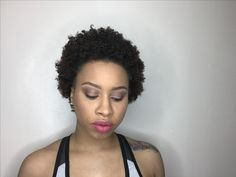 Simple beat make up of the evening | pink matte lipstick