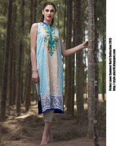 15-EXC-K7A From FIRDOUS Carnival Kurti Collection 2015
