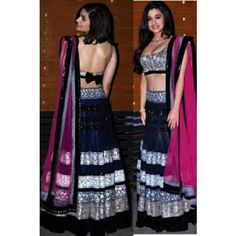 Designer Bollywood replica lehanga by noorie creationz - Online Shopping for Lehnga by Noorie Creationz