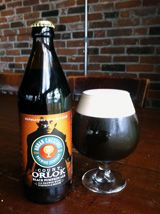 What a great fall beer!!!!  Count Orlok-Black Pumpkin ale from Urban Chestnut