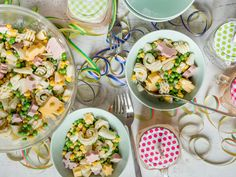 Colorful Pasta Salad for Kids: Pasta Fun for Big and Small - Home Page Pasta Salad For Kids, Kids Pasta, Salads For Kids, Supper Recipes, Healthy Dinner Recipes, Appetizer Recipes, Baby Cooking, Sliced Turkey, Evening Meals
