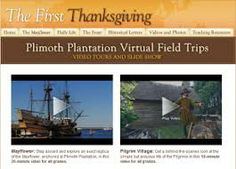 Field trips from Scholastic. Plimoth Plantation - great post from Tonya's Treats for Teachers
