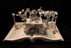 sculptures de livres dechires par jodi harvey brown vignoble   Des sculptures de livres déchirés par  Jodi Harvey Brown   star wars scupltur...