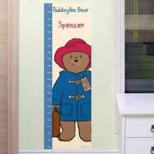 Seeking a brilliant present to get your loved one? Find out what's so special about our Paddington Bear Height Chart. Order now. Personalized Gift Cards, Christmas Stocking Fillers, Christmas Gifts, Bear Illustration, Height Chart, Paddington Bear, Miffy, Bear Design, Cute Bears