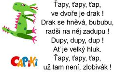 básničky pro děti - Hledat Googlem Sudoku, Gross Motor Activities, Kids And Parenting, Drake, Education, Children, School, Fictional Characters, Sport