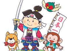端午の節句に飾る「桃太郎人形」に込められた願い - こどもの日特集 | 家族みんなで端午の節句を祝おう