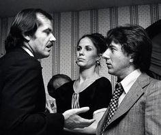 Jack Nicholson, Ann Hoffman and Dustin Hoffman (1975)