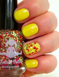 Keep Your Nail Game Fresh - Orly Melodious Utopia with a Dollish Polish BAZINGA! accent. #nails #nailpolish #beautyblog