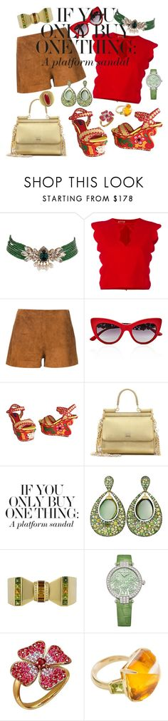 """Statement Shoes"" by jeniferkcarsrud ❤ liked on Polyvore featuring Shourouk, Giambattista Valli, rag & bone, Dolce&Gabbana, Margot McKinney, Sabbadini and Harry Winston"