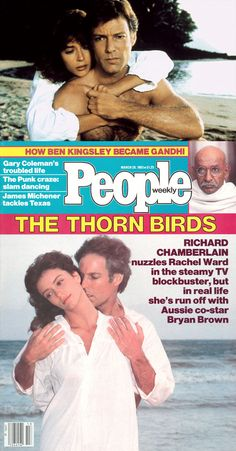 Richard Chamberlain & Rachel Ward in The Thorn Birds (1983, ABC)