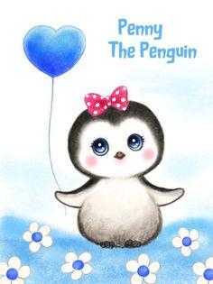 Penny The Penguin By Kayomi Harai