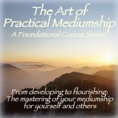 Start connecting with Spirit today! The most affordable, comprehensive self-led, home-study distance course for psychic mediums is now available to you! This is a psychic mediumship training workshop is designed for beginners to advanced practitioners alike.