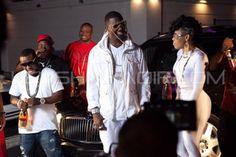 Keyshia Ka'oir and Gucci Mane on 911 Set in Atlanta