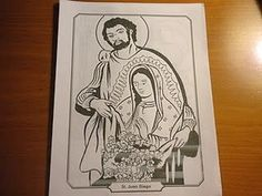 Immaculate Conception Coloring Pages 03  Church ideas