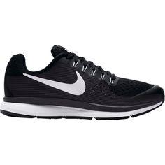 Nike Kids' Grade School Zoom Pegasus 34 Running Shoes, Girl's, Black