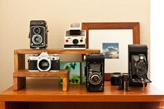 No matter how many times I see, I still like camera collections.