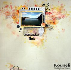 le scrap de kouneli: Remember this pour Rendez-vous scrap