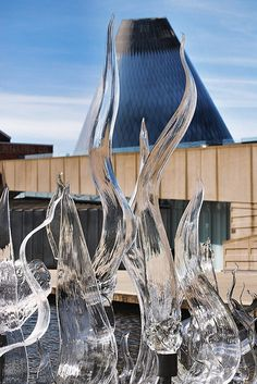The Glass Museum in Tacoma, Washington is an amazing mix of exhibits and artists in residence.