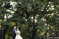 穏やか笑顔のお2人と*妙心寺&京都御苑で前撮り* |*elle pupa blog*