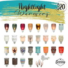 $20 Scentsy Plugin Warmers, view other price warmers on THIS board! :) <3