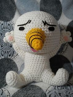 Plue from the Anime Fairytail Amigurumi ~ Free Pattern